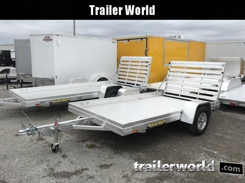 2020 Aluma 6810 10' Aluminum Utility Trailer
