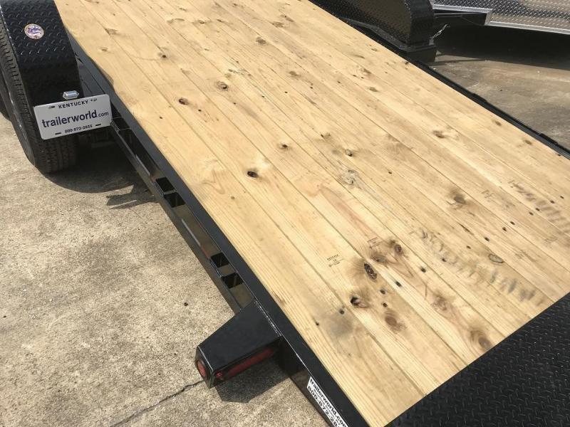 2019 Big Tex 14TL-20' 16' Tilt + 4' Equipment Trailers