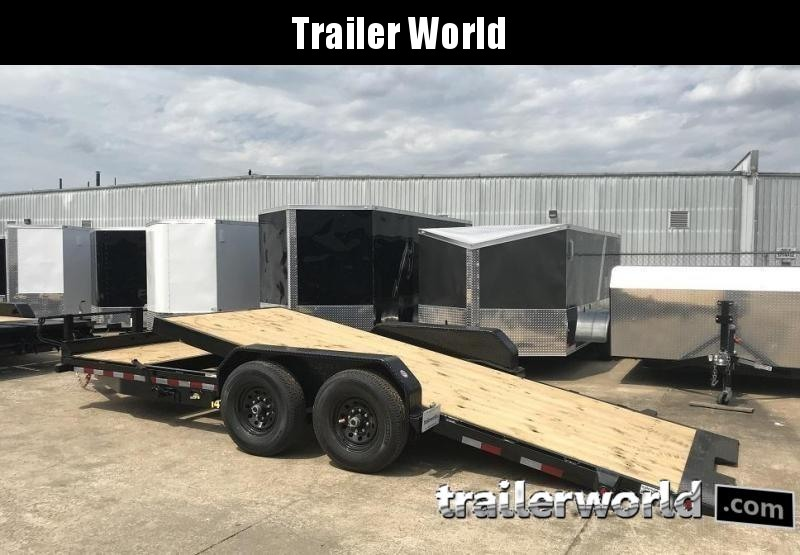 2019 Big Tex 14TL-20' 16' Tilt + 4' Equipment Trailers