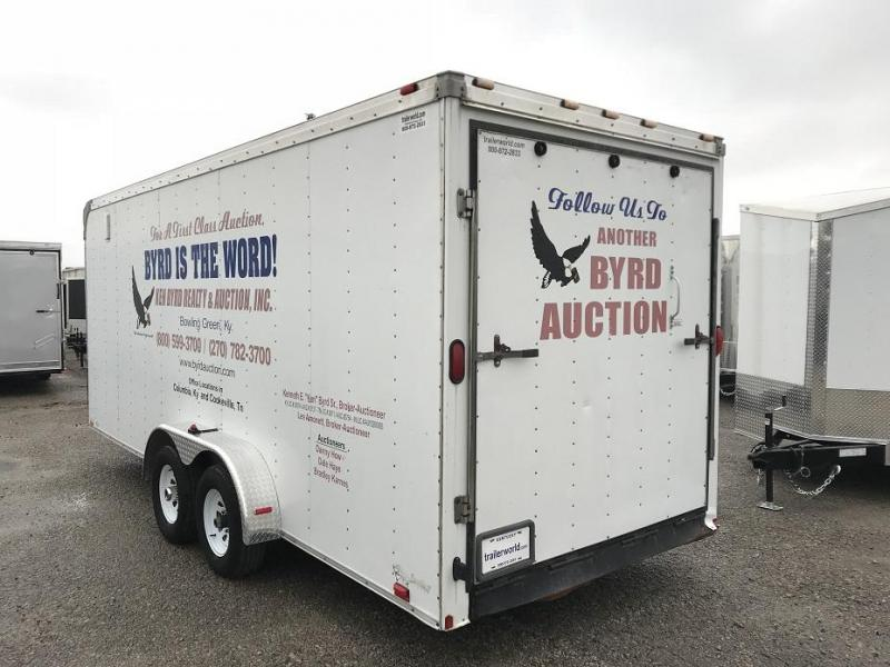 2006 Forest River 7' x 20' Enclosed Cargo Trailer