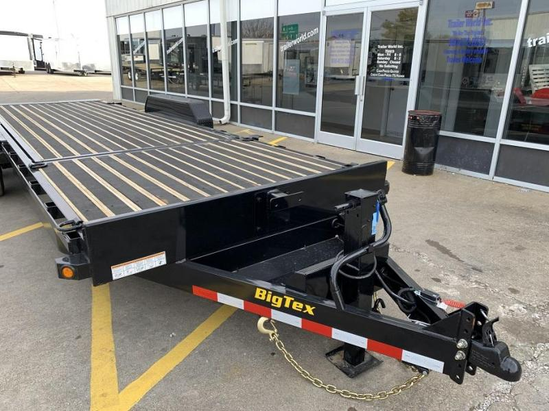 2019 Big Tex Trailers 16TL-20' 16' Tilt Bed + 4' Front Equipment Trailer 8 Ton