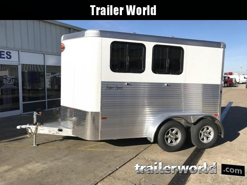 2019 Sundowner Super Sport 2 Horse Trailer