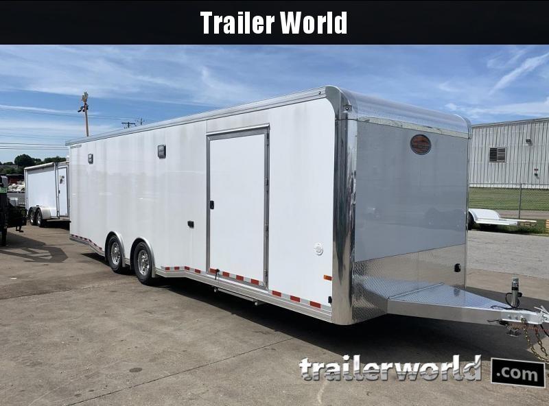 2020 Sundowner 28' Spread Axle Car Aluminum Race Trailer