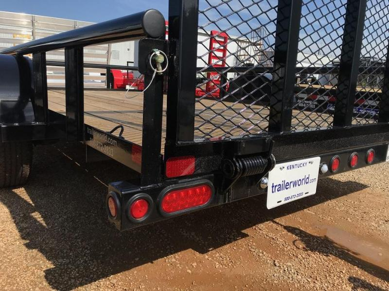 2019 Big Tex Trailers 35SA-12' x 6.5' Utility Trailer