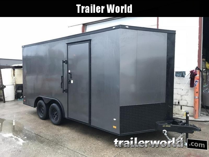 2019 CW 8.5' x 16' x 7' Tall Vnose Enclosed Cargo Trailer in Ashburn, VA