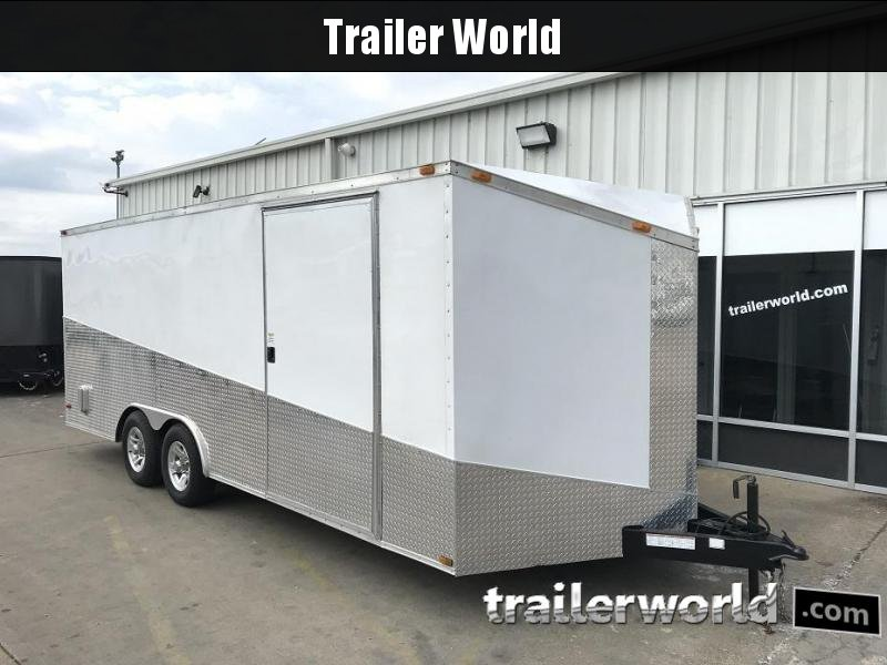 2013 Diamond Cargo 20' Vnose Enclosed Trailer