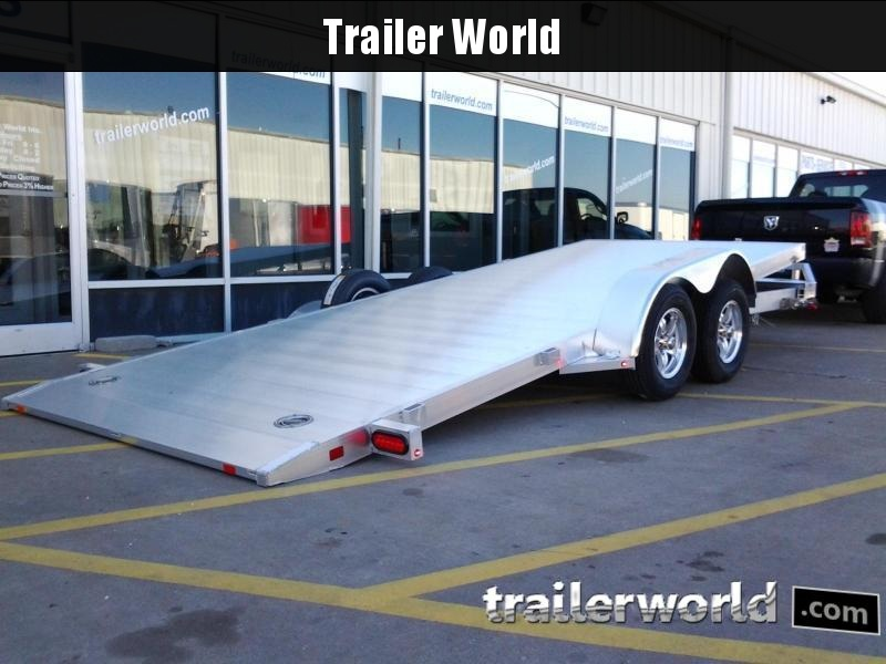 2019 Aluma 8216 Tilt Bed Aluminum Open Car Hauler Trailer  in Ashburn, VA