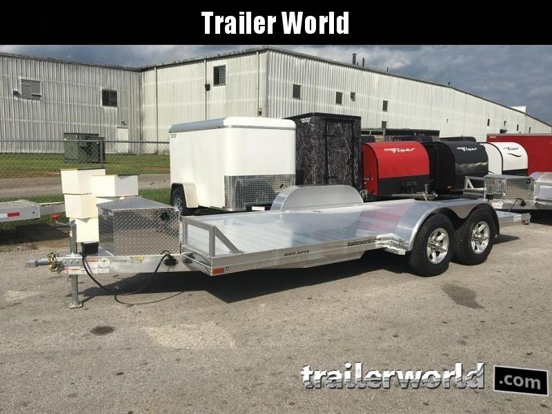 2019 Sundowner 4000AP - 18' Aluminum Open Car Hauler Trailer