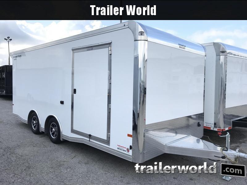 2018 Sundowner  20' Enclosed Car Aluminum Race Trailer