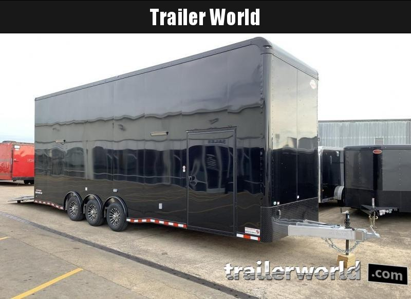 2020 Cargo Mate Aluminum 30' Stacker Race Trailer in Ashburn, VA