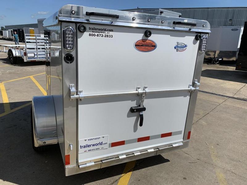 2020 Sundowner 5' x 8' MINI GO Enclosed Aluminum Cargo Trailer