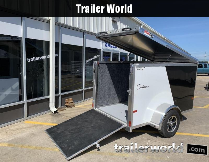 2020 Sundowner 5' x 8' MINI GO Enclosed Aluminum Cargo Trailer