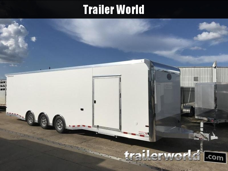 2019 Sundowner 32' Spread Axle Car Aluminum Race Trailer
