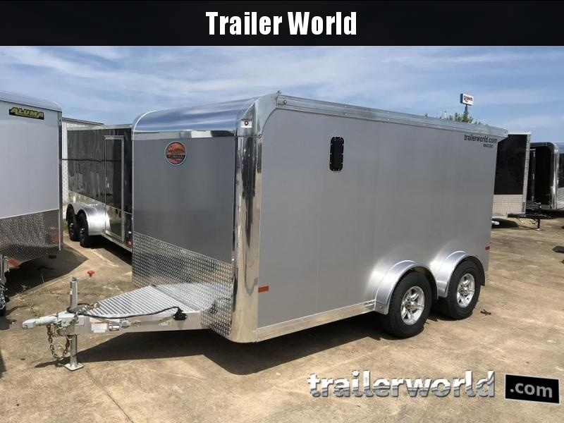 2019 Sundowner  7.5' x 13' Enclosed Aluminum Motorcycle Trailer