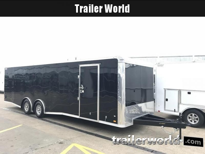 2019 CW 28' Enclosed Car Race Trailer