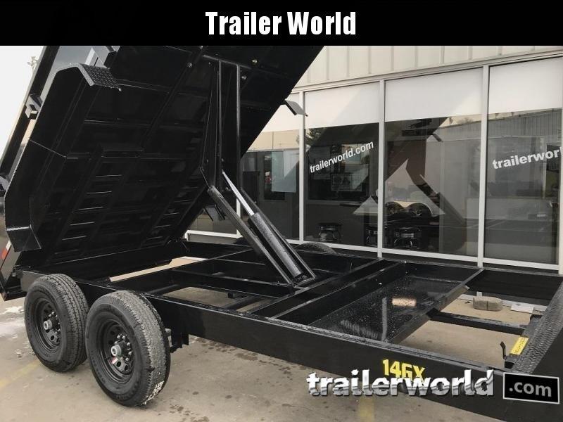2020 Big Tex Trailers 14GX-14' Gooseneck Dump Trailer