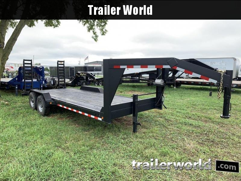 2017 Trailer 20' Low Profile 8 Ton Gooseneck Equipment Trailer