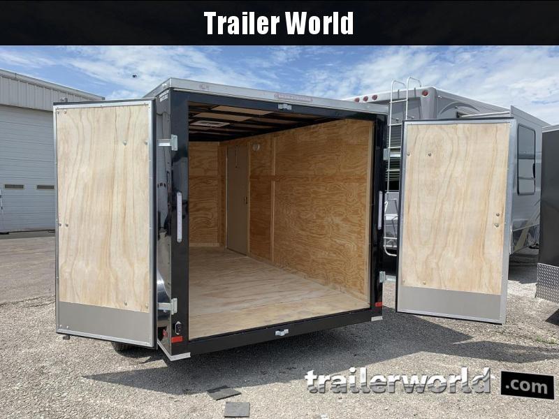2019 CW 7' x 14' x 6.5' Vnose Enclosed Cargo Trailer Double Doors