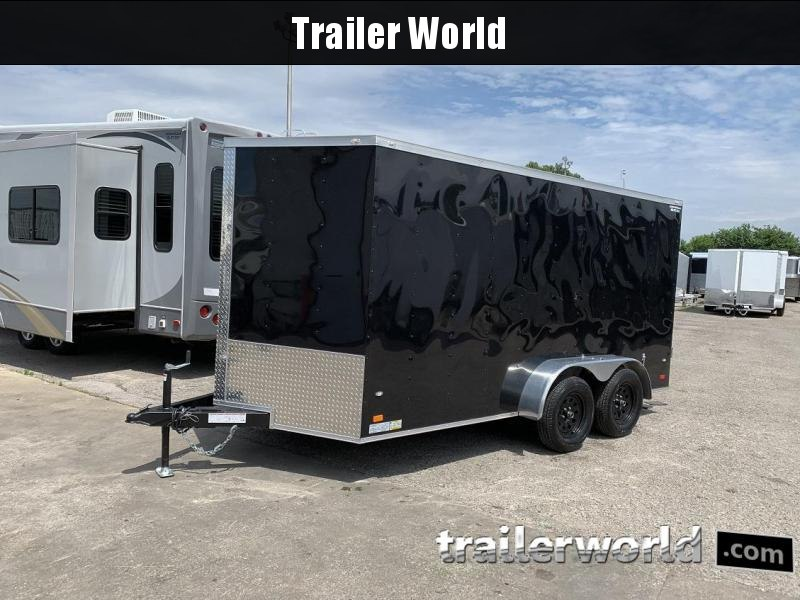 2019 CW 7' x 14' x 6.5' Vnose Enclosed Cargo Trailer Double Doors