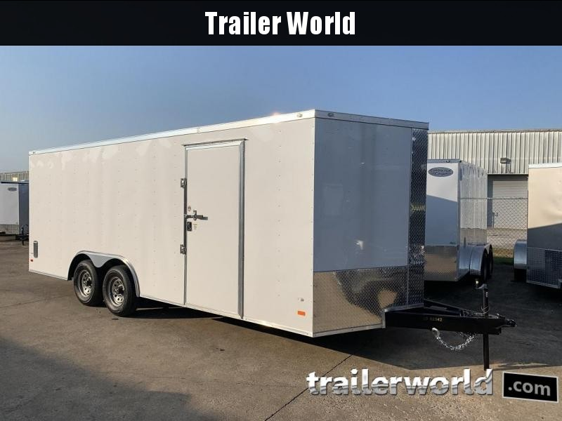 2020 CW 20' Enclosed Car Trailer 10k GVWR