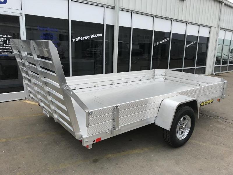 2019 Aluma 7712H 12' Aluminum Utility Trailer Side Kit