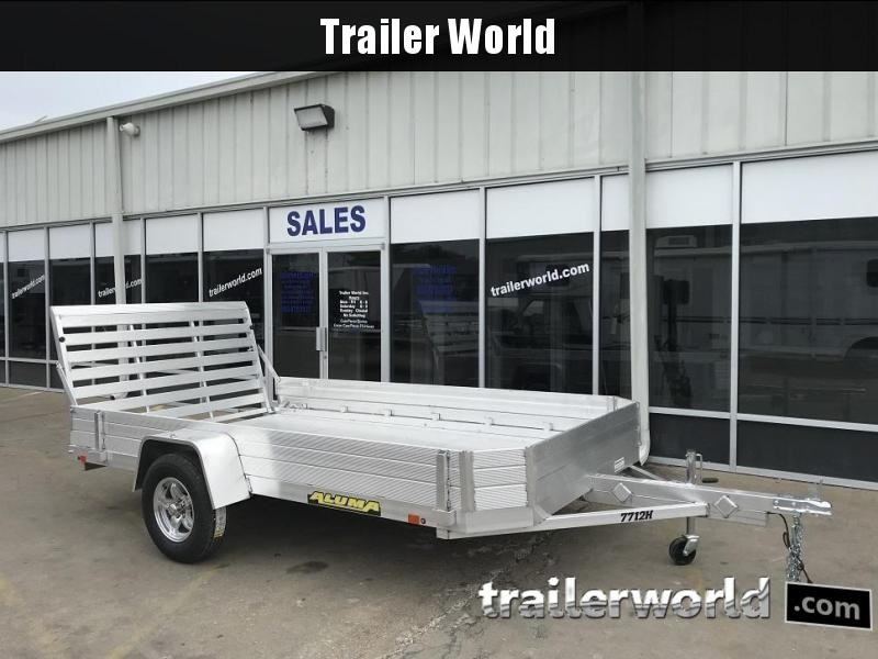 2019 Aluma 7712H 12' Aluminum Utility Trailer Side Kit
