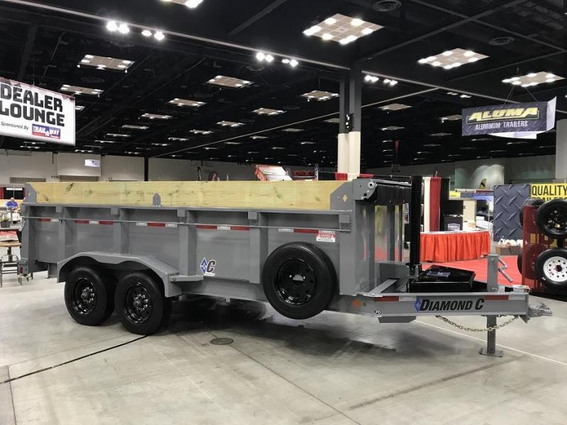 2019 Diamond C LPT 16' SUPER Dump Trailer Low Profile Commercial Grade 20k GVWR