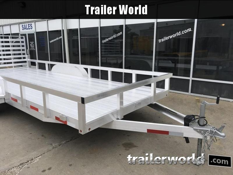 2019 Trailer World Aluminum 16' Utility Trailer
