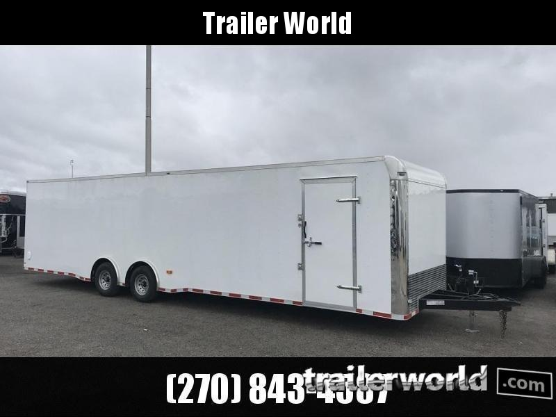 2019 Lark 34' Spread Axle Enclosed 2 Car Hauler Trailer in Ashburn, VA