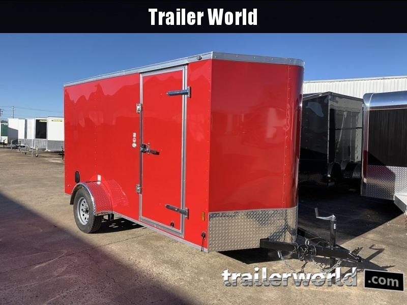 2019 Continental Cargo 6' x 12' Enclosed Cargo Trailer