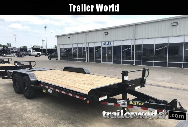 2019 Big Tex 14ET-18' Mega Ramps Equipment Trailer  7 Ton