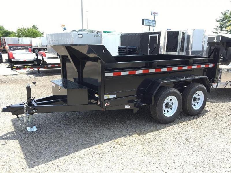 2019 Sure-Trac 6' x 10' Dump Trailer 10k GVWR