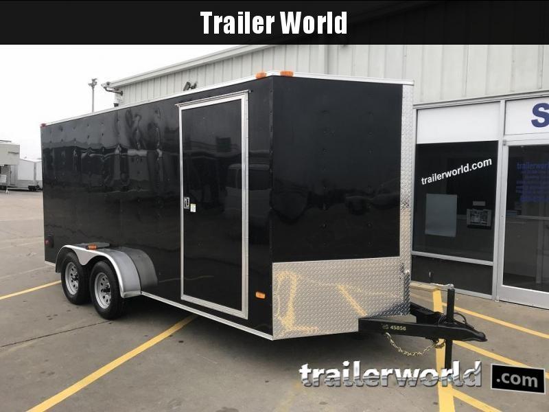2019 CW 7' x 16' x 6.6' Vnose Enclosed Cargo Trailer