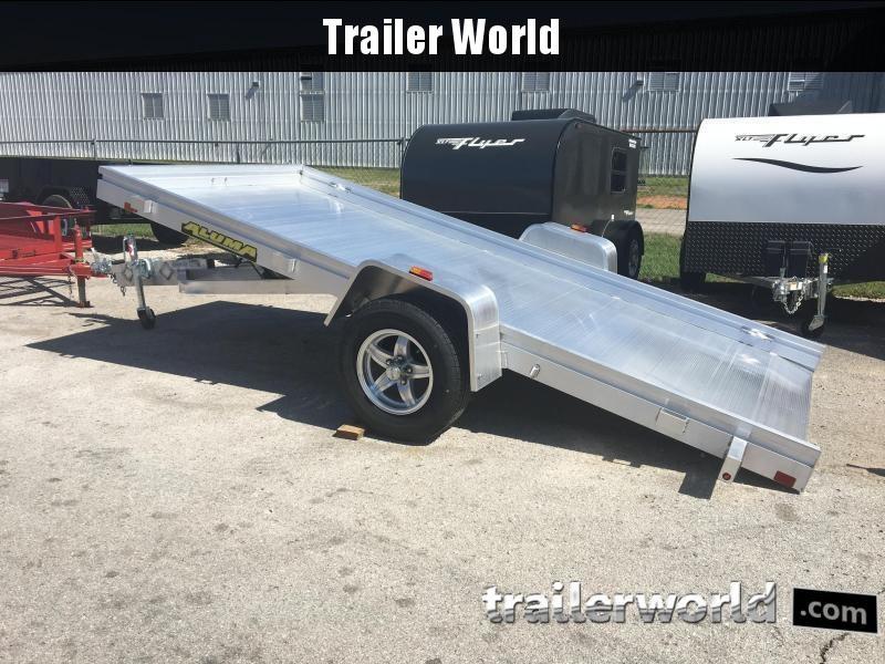 2019 Aluma 6812H 12' Tilt Aluminum Utility Trailer