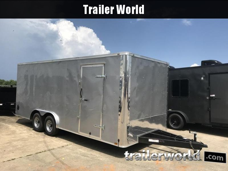 2018 Lark 8.5' x 20' x 7' Enclosed Car Trailer 10k GVWR