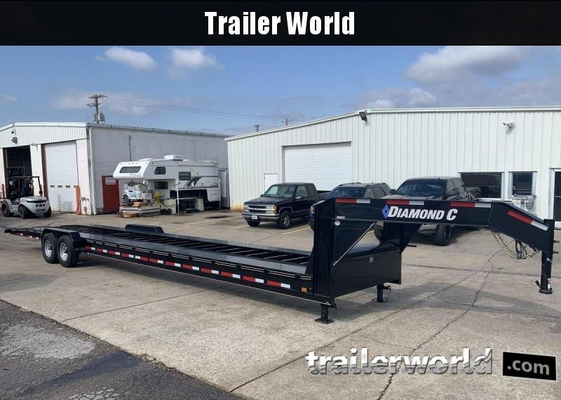 2019 Diamond C MVC 38' Gooseneck Open 2 Car Gooseneck  Trailer