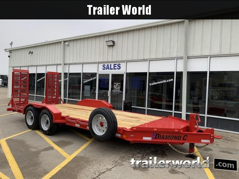 2019 Diamond C 19LPX 18' Equipment Trailer