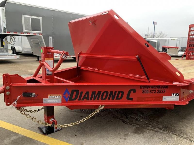 2019 Diamond C 19LPX 18' Equipment Trailer