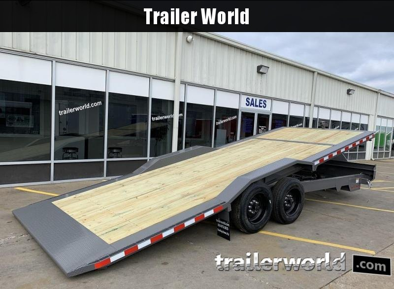 2019 Midsota TBWB-22 Power Tilt 8 Ton Equipment Trailer