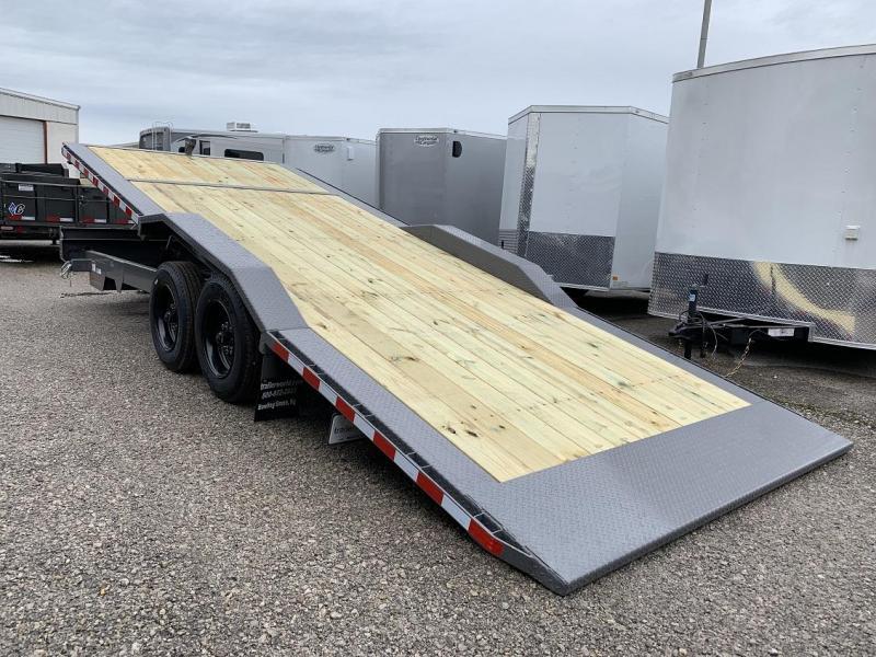 2019 Midsota TBWB-22 Power Tilt 8 Ton Equipment Trailer