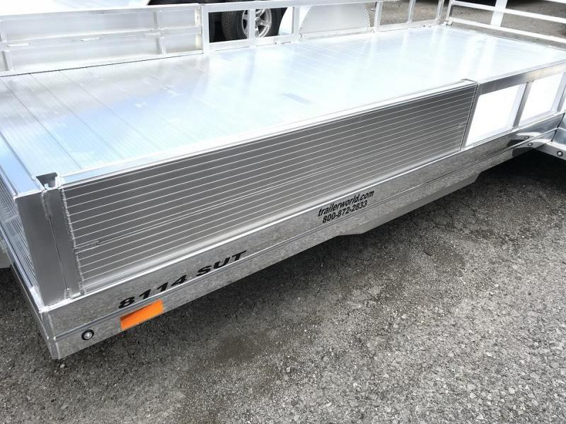 2019 Sundowner 8114 SUT  14'  Single Axle Utility Trailer