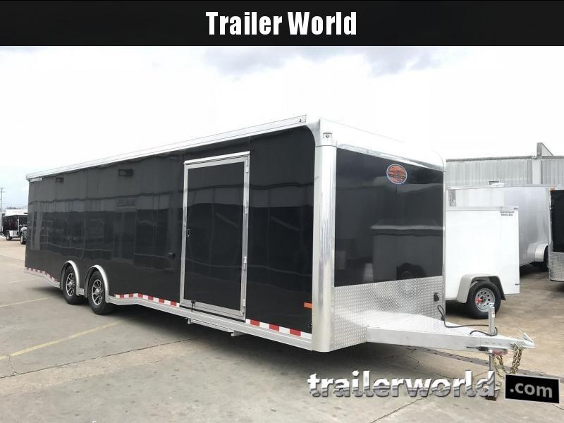 2018 Sundowner 30\' Spread Axle Car Aluminum Race Trailer | Trailer ...