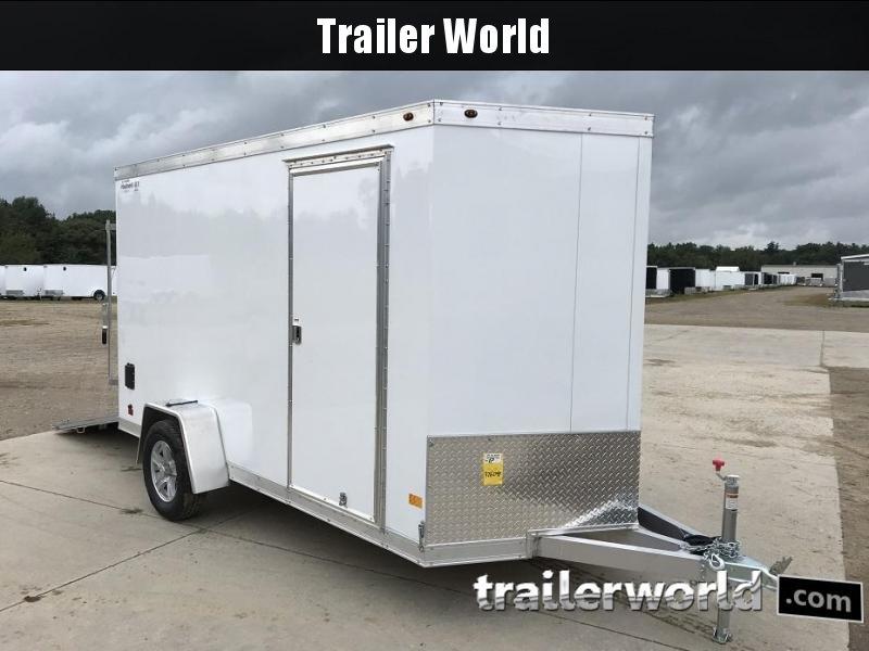 2019 Haulmark HAUV6x12DS 6'x 12' Aluminum Enclosed Cargo Trailer