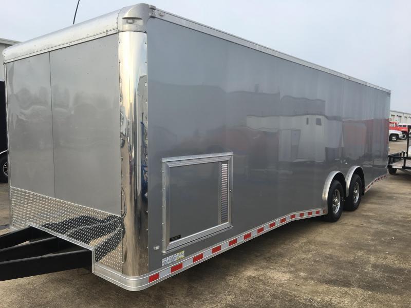 2019 CW 28' Spread Axle Racing Trailer 14k GVWR