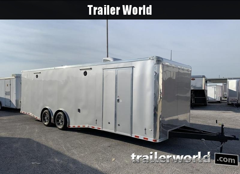 2019 CW 28' Spread Axle Racing Trailer 14k GVWR