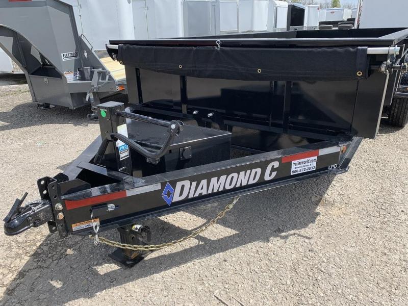 2019 Diamond C LPD 16' Dump Trailer Low Profile Commercial Grade