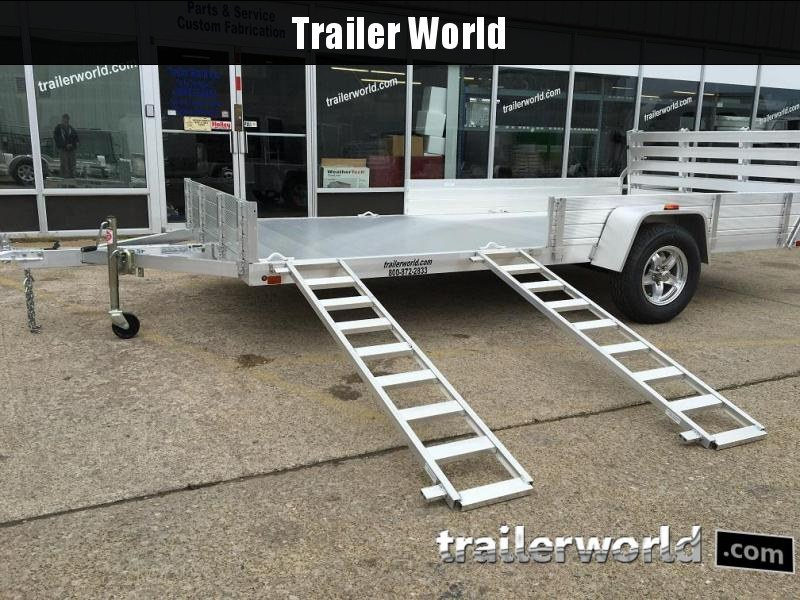 2018 Aluma 8114SR 14' Aluminum Utility ATV Trailer