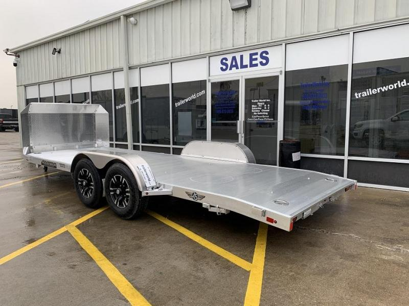 2020 Aluma 8220HB Aluminum Open Car Trailer Anniversary Edition