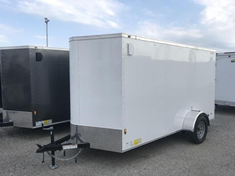 2020 Continental Cargo 6' x 12' Double Door Enclosed Cargo Trailer