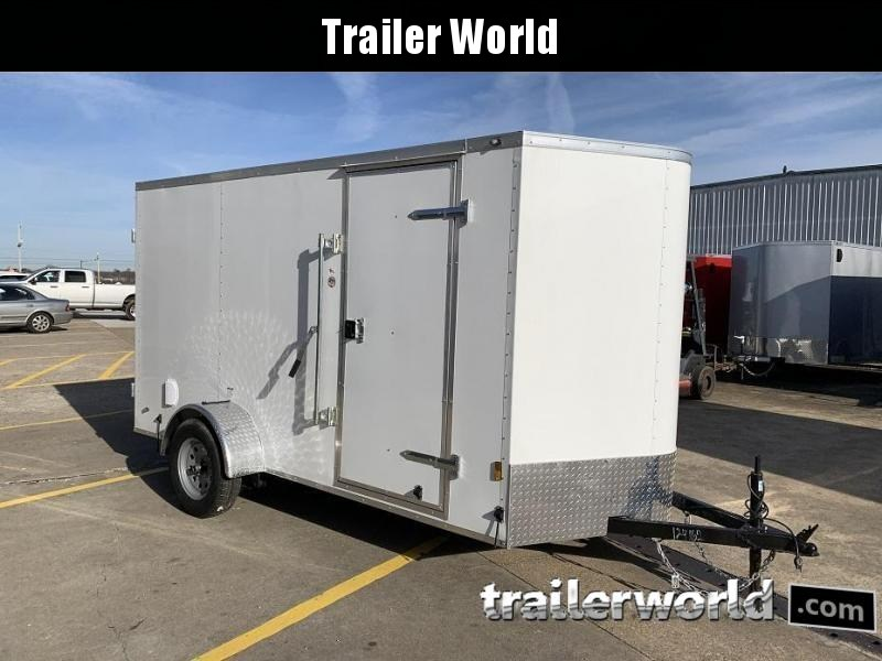 2020 Continental Cargo 6' x 12' Double Door Enclosed Cargo Trailer